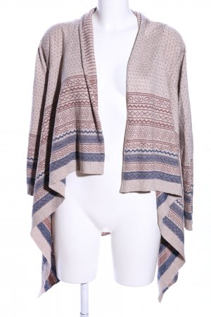 Bohemia Cardigan grafisches Muster Casual-Look