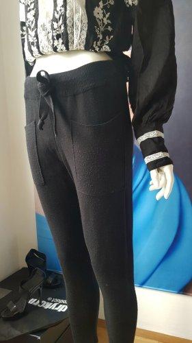 bohemian blogger stylefaktor bluse viskose strickhose schwarz small italien Boutique