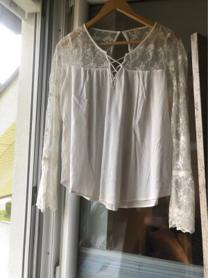 Bohemian Bluse in off white