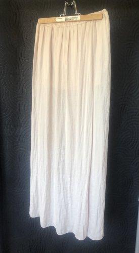 Spódnica maxi kremowy-w kolorze białej wełny