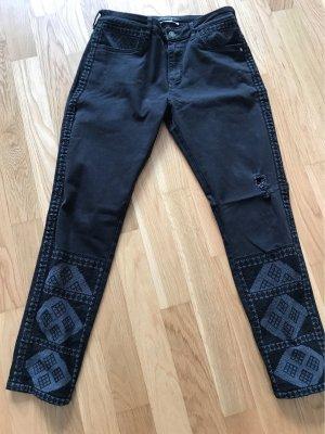 Maison Scotch Jeans boyfriend noir