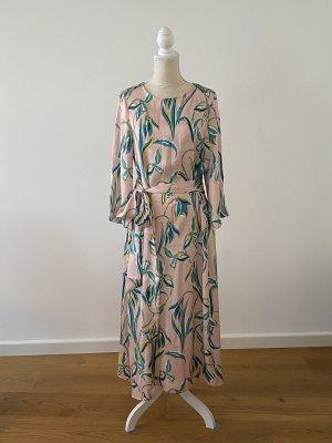 Bohemien Langes Kleid mit Gürtel one size von 8