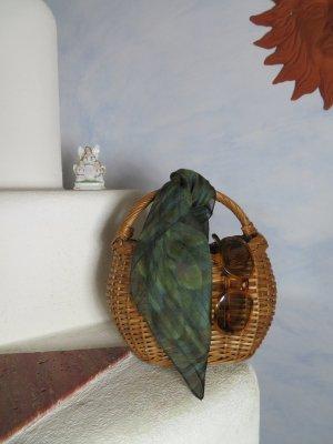 Vintage Basket Bag light brown