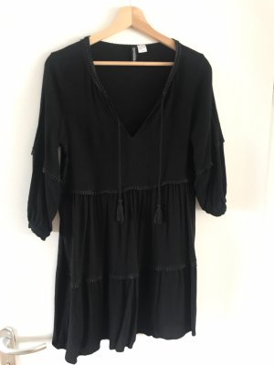 H&M Sukienka boho czarny