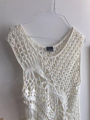 Sparkle & Fade Strój kąpielowy (sukienka) w kolorze białej wełny