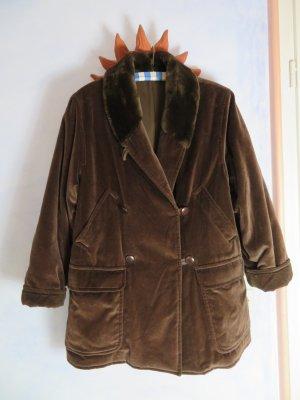 MaxMara Weekend Winterjas donkerbruin-bruin