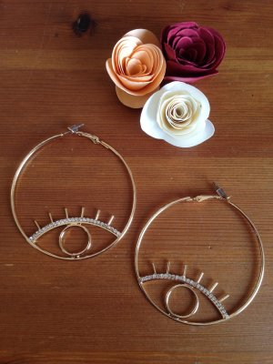 Ear Hoops gold-colored