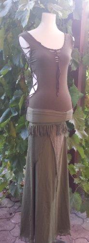 Boho, Ethno, Hippie Nature Festival Goa Amazonen TOP Green