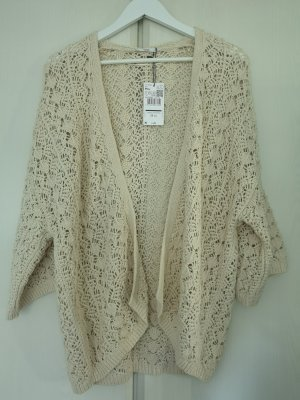 Mango Knitted Vest oatmeal cotton