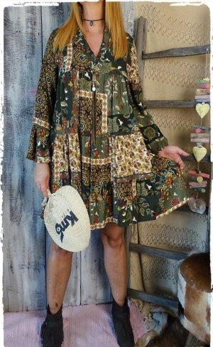 boho hippie Ibiza Kleid Tunika