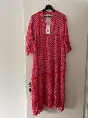 Haily's Abito hippie rosa-rosso