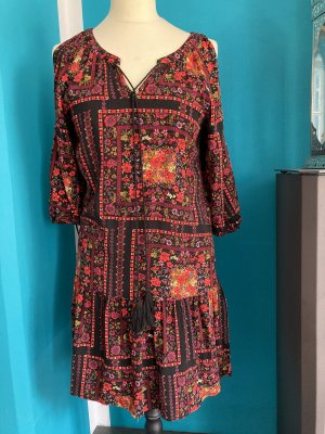 Rainbow Robe Hippie noir-rouge