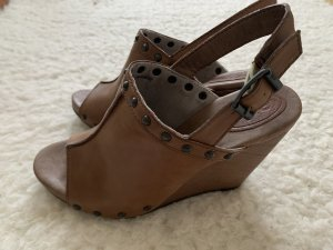 edc by Esprit Wedge Sandals brown