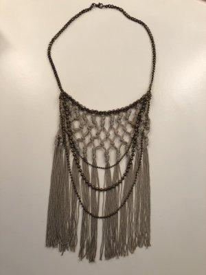 H&M Statement Necklace sage green