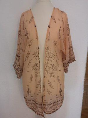 Kimono nude-apricot