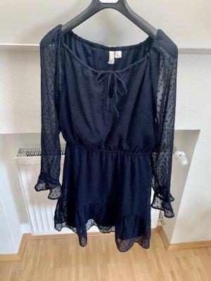 H&M Empire Dress dark blue