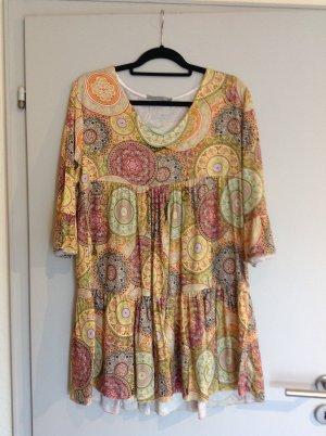Made in Italy Vestido Hippie multicolor