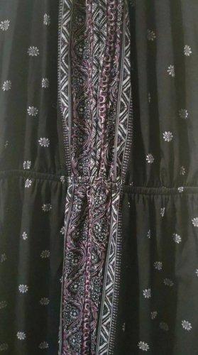 Tally Weijl Robe longue noir-rose