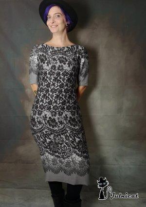 BOHO Kleid aus Viskose Gr.38
