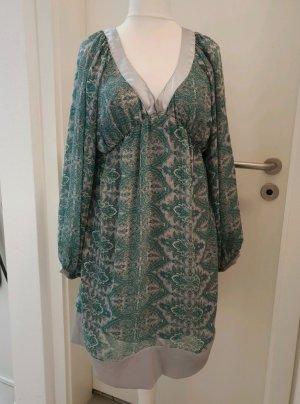 Soaked in luxury Vestido Hippie verde claro