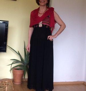 Boho Kleid maxi midi handmade etsy indisch Sari paisley maxikleid