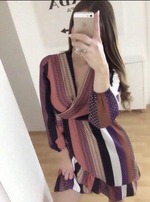 Boho Kleid Volants XS S Blogger