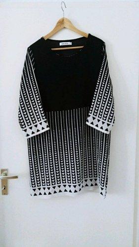 Robe Hippie noir-blanc