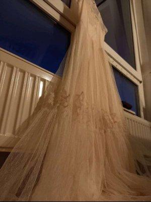 Boho samtenes Hochzeitskleid