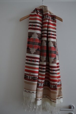 H&M Sjaal met franjes veelkleurig