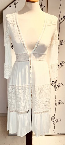 Boho Sommerkleid mit Spitze - Gr. 34