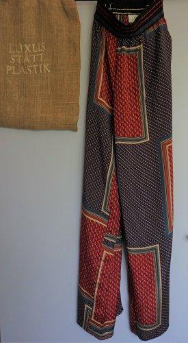 Kaffe Pantalón tipo suéter multicolor Viscosa