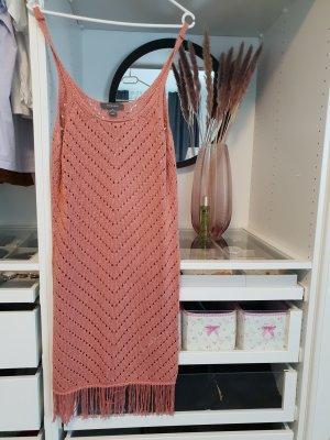 Primark Vestido tejido rosa empolvado-rosa