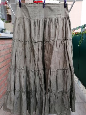 Broomstick Skirt khaki