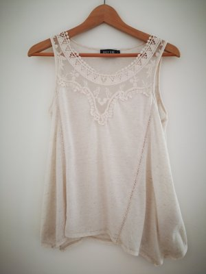 Boho Top creme Only one