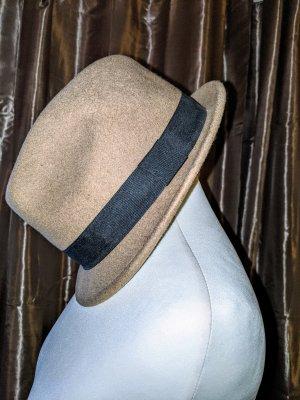 H&M Chapeau melon noir-marron clair