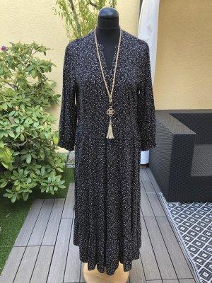 C&A Yessica Sukienka boho czarny-kremowy