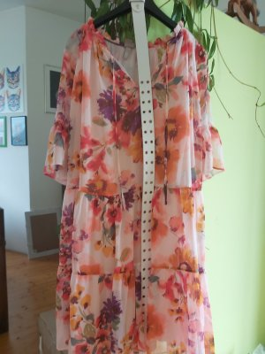 Anna Glover × H&M Szyfonowa sukienka Wielokolorowy