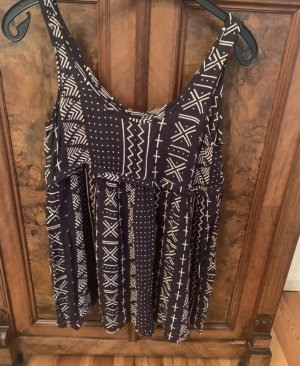 Urban Outfitters Summer Dress anthracite-cream