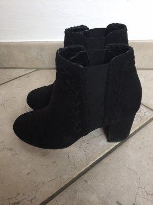 Bohoo Low boot noir
