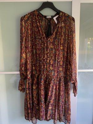 Antik Batik Chiffon Dress multicolored