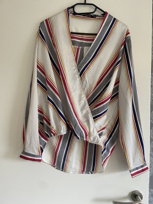 Bohoo Kopertowa bluzka Wielokolorowy