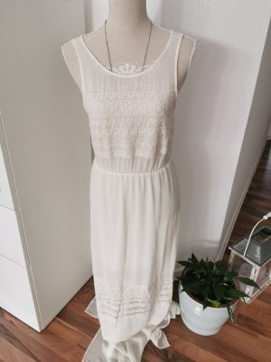 H&M Abito hippie bianco-crema