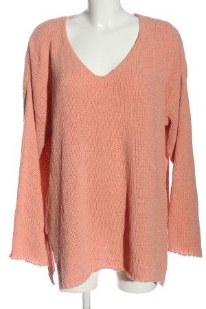 Bohoo Lange jumper roze casual uitstraling