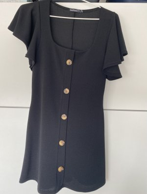 Bohoo Mini-jurk zwart
