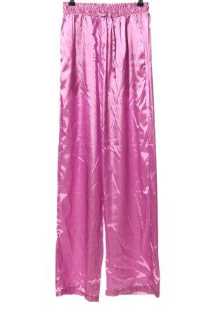 Bohoo Stoffen broek roze elegant
