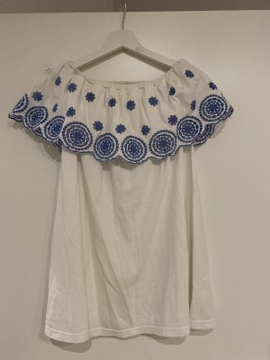Asos Tunika biały-niebieski