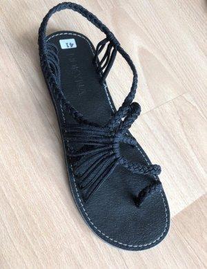 BOKYNA Roman Sandals black
