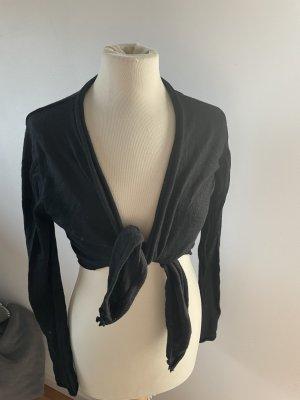 Lilienfels Bolero lavorato a maglia nero