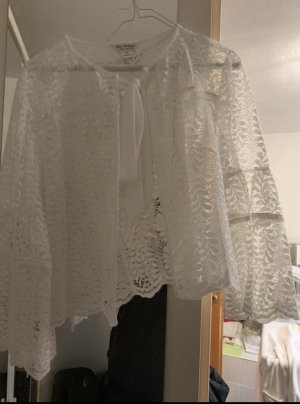 Asos Bolero lavorato a maglia bianco