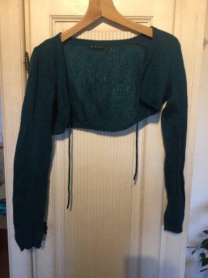 Sisley Knitted Bolero petrol